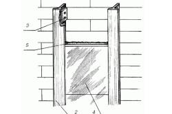 Схема кладки плитки с применением алюминиевых элементов