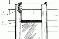 Схема облицовки печей и каминов с применением алюминиевых элементов