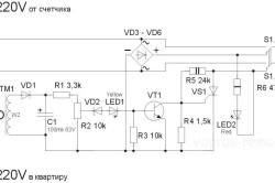 Схема устройство контроля мощности водонагревателя