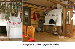 Примеры различного стилевого оформления печей