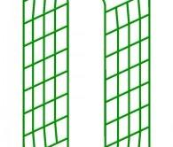 Схема стационарной металлической дровницы
