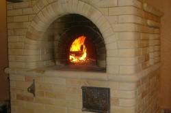 Данную печь можно использовать для отопления маленьких помещений.