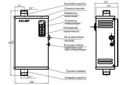 Схема устройства и принцип работы котла ЭПВ