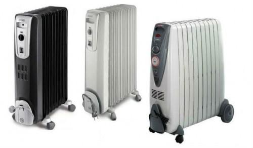 Примеры масляных радиаторов