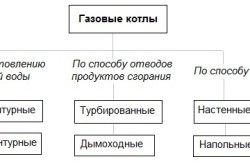 Разновидности газовых котлов