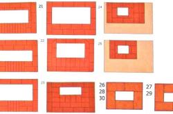 Схема 2. Порядовки с 18 по 29 ряд