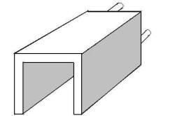 Рис. 1. Задняя (торцевая) часть камеры теплообменника