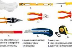 Инструменты для строительства камина