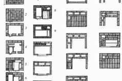 Схема кладки кирпичной печки Буслаева