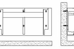Схема крепления настенного радиатора