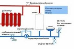 Схема подключения самодельного электродного котла