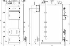 Чертеж конструкции отопительного агрегата