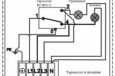 Принципиальная схема электромонтажа