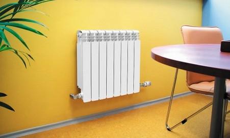 Отопление дома радиатором