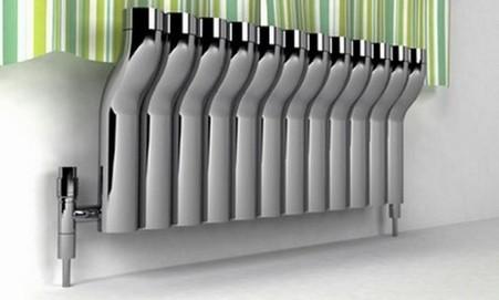 Отопительный радиатор дома
