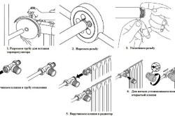 Схема подключения терморегулятора к батарее