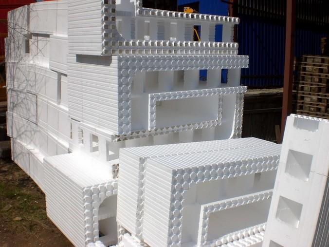 Блоки из пенополистирола