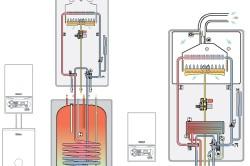 Схема котла газового от Vaillant