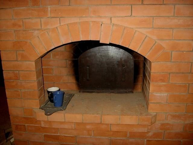 Печь, подлежащая ремонту