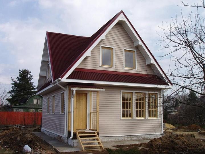 Дом с ленточным фундаментом
