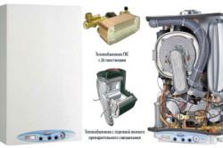 Схема работы двухконтурного газового котла.