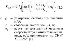 Формула расчета на тепловую нагрузку отопления