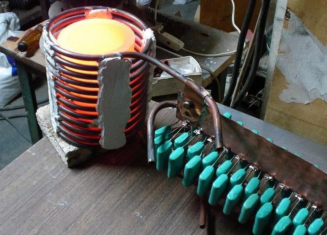 Как сделать индукционный нагреватель