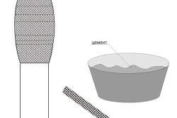 Радиатор можно заклеивать при помощи бинтов и цемента