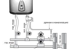 Схема электрического проточного нагревателя