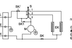 Схема электрического тепловентилятора