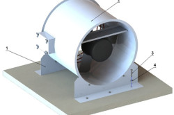 Схема монтажа тепловентилятора