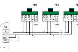 Подключение модуля температурного контроля