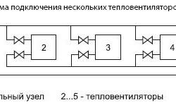 Схема подключения нескольких вентиляторов
