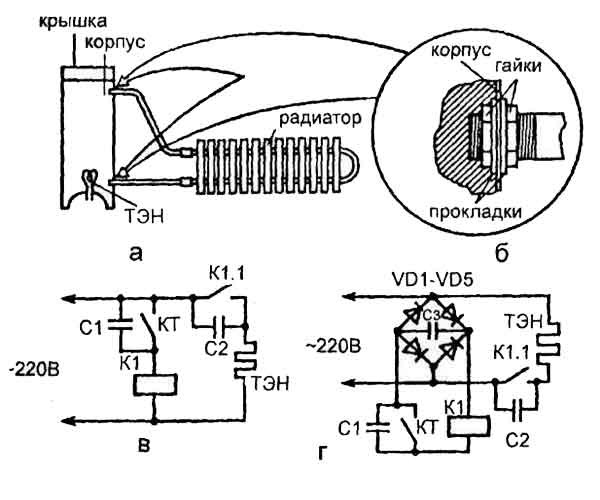 Схемы масляного отопления