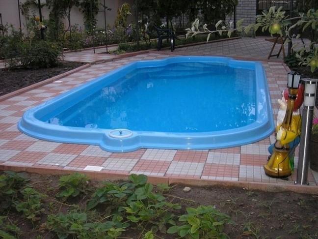 Пример утепленного бассейна