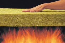 Базальтовый утеплитель - негорючий материал