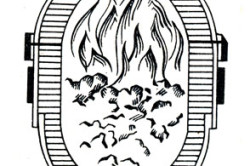 Схема конвертора Бессемера