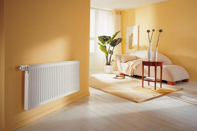 Биметаллический радиатор в доме