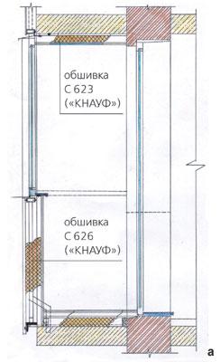 Схема утепления окна из дерева