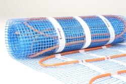 Кабельный мат представляет собой сетку, на которой закреплен кабель.