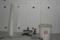 Подготовка к утеплению стен изнутри.