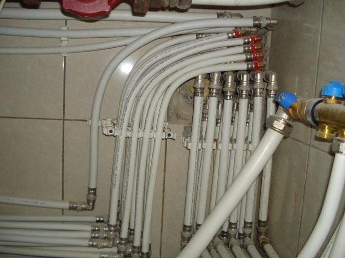 Металлопластиковые трубы для отопления монтаж своими руками
