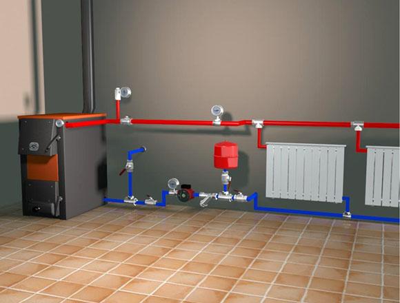 Электрический способ отопления подразумевает наличие радиаторов.