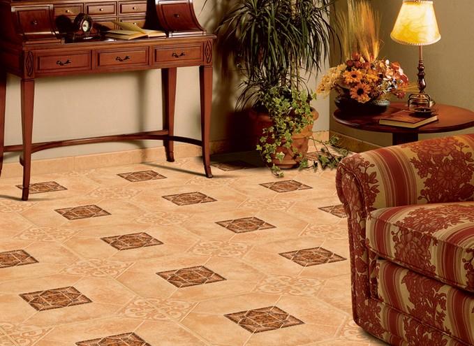 Большинство людей предпочитают на теплый пол класть плитку. Она красиво смотрится, практична и хорошо проводит тепло.