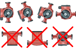 Правильная установка циркуляционного насоса