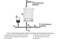Схема подключения двухконтурного электрического котла