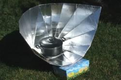 Солнечная печь комбинированная