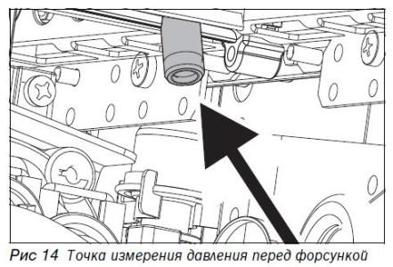 Схема регулировки давления перед форсункой газовой колонки
