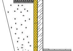 Схема укладки пенополистирола на стену.
