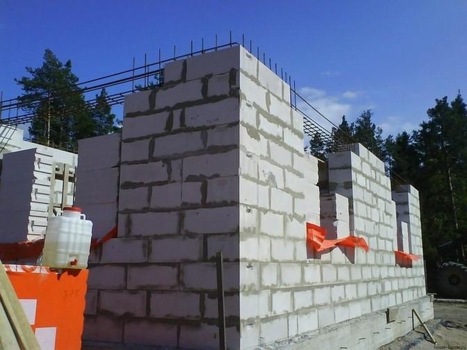Утепление дома со стенами из газобетона